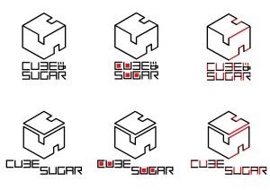 「CUBE SUGAR CAFE」ロゴ