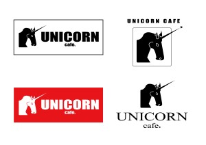 「UNICORN CAFE」ロゴ